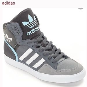 adidas Extaball Onix, White & Blue